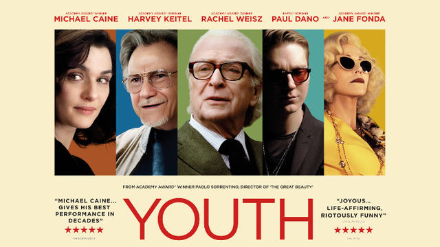 YOUTH from the Academy Award®-winning director of The Great Beauty, starring Michael Caine, Harvey Keitel, Rachel Weisz and Jane Fonda