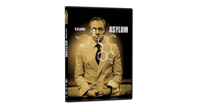 Asylum, mental health documentary following psychiatrist R.D. Laing on DVD