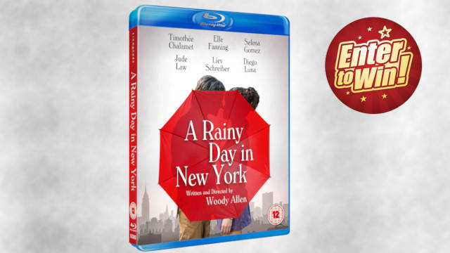 A Rainy Day in New York Blu-rays up for grabs