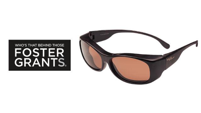 Foster Grant® Solar Shield® Fits Over sunglasses