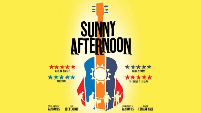 SUNNY AFTERNOON at Harold Pinter Theatre