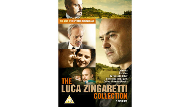 The Luca Zingaretti Collection DVD box set