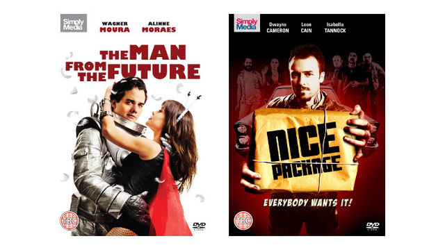 Nice Package and The Man From The Future DVDs
