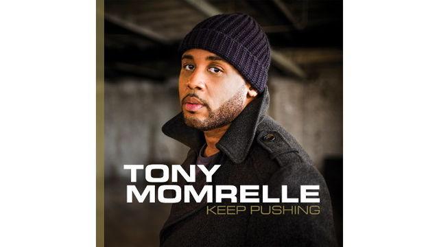 Tony Momrelle's latest album 'Keep Pushing'