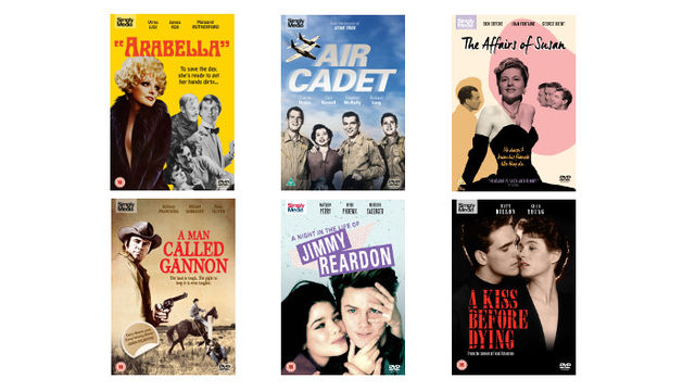 Six Universal Pictures/Hollywood Classics Titles on DVD