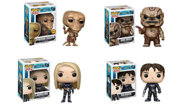 Valerian Funko Pop Figures