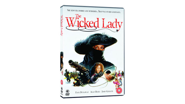 The Wicked Lady on DVD