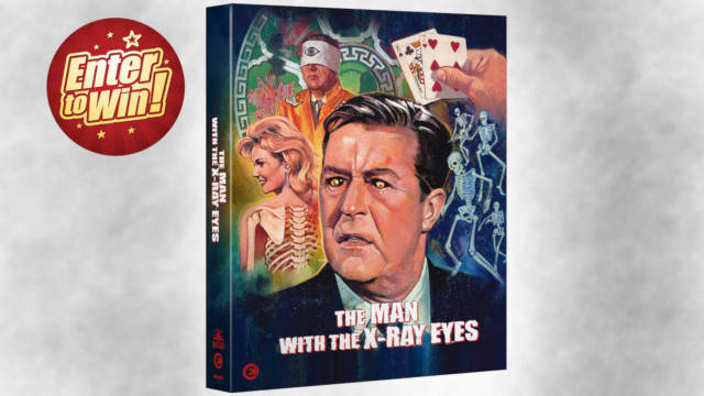 The Man With The X-Ray Eyes Limited Edition Blu-ray Box Sets up for grabs