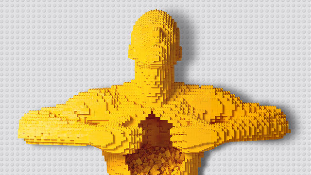 The Art of the Brick at Old Truman Brewery