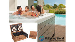 Picnic Hamper from HotSpring World