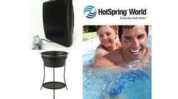 HotSpring World Outdoor Speakers (worth £135) and Ice Bucket (worth £60)