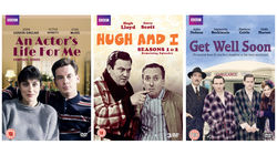 BBC classic comedies DVD bundle: An Actor's Life for Me, Hugh and I and Get Well Soon