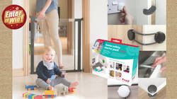 WIN the Fred Safety Pressure Fit Clear-View Stairgate along with a babyproofing Home Safety Starter Kit (worth £174.99)