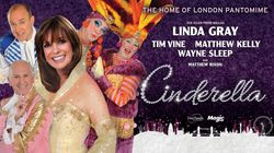Cinderella starring Linda Gray at New Wimbledon Theatre