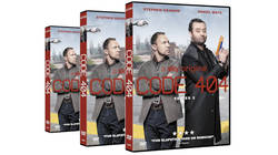 Code 404 Series Two DVDs up for grabs