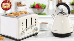 Win a Kensington Cream Kettle & Toaster from Daewoo Electricals