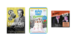 Danny Kaye Legends, Air Supply Live in Toronto, King Family Christmas: Classic Television Specials