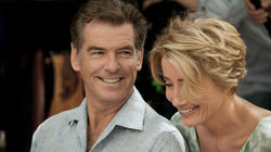 THE LOVE PUNCH - Emma Thompson and Pierce Brosnan
