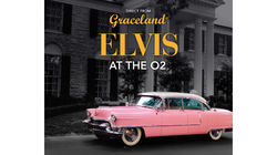 Elvis Presley's Pink Cadillac at Elvis at the O2 in London