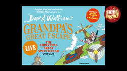 WIN A CHRISTMAS THEATRE TRIP FOR YOUR FAMILY TO SEE GRANDPA'S GREAT ESCAPE