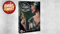 Miss Fisher & the Crypt of Tears DVDs up for grabs