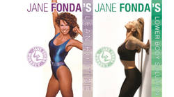 Your chance to have the Jane Fonda's 'Lean Routine' & 'Lower Body Solution' DVDs
