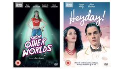 FROM OTHER WORLDS and HEYDAY! DVDs