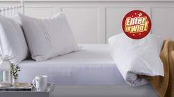Win a set of Hippychick Tencel Fitted Sheet and 2 Pillow Protectors!