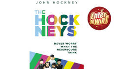 Your chance to have a copy of The Hockneys by John Hockney, published by Legend Press