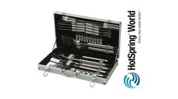 30 piece BBQ set from HotSpring World
