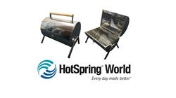 Charcoal Barrel BBQ from HotSpring World