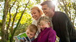 rediscover the great outdoors with Treasure Trails