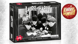 WIN LAUREL AND HARDY 1000 PIECE PUZZLE