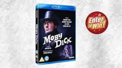 WIN JOHN HUSTON'S EPIC ADVENTURE MOVIE MOBY DICK ON BLU-RAY