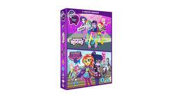 Win EQUESTRIA GIRLS: RAINBOW ROCKS AND FRIENDSHIP GAMES Movie Box Set on DVD