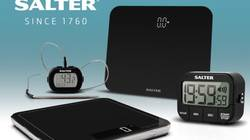 Win a Bundle of Salter's Kitchen Scale, Timer & Thermometer plus the Bathroom Scale (worth £100)!