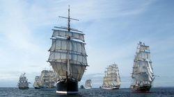 Thames Tall Ship Cruise 2015