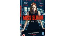 Miss Sloane on DVD