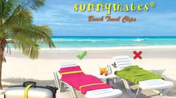 Win a set of Sunnymates Beach Towel Clip