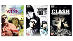 World cinema feature films, The Cinema Hold Up, The Ways of Wine and Clash DVDs