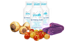 youthH2O - 3 very powerful & rare superfoods all in one liquid high concentration from Camu Camu, purple corn & organic maca root