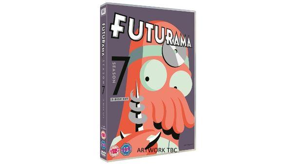 Win a copy of FUTURAMA: THE COMPLETE SEASON SEVEN DVD
