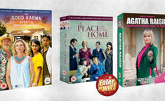 Win a Bundle of TV Favourites Festive Gifting Box Sets: Agatha Raisin, The Good Karma Hospital & A Place to Call Home