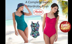 Win the trio of swimsuit from Anita
