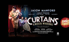 Win 1 of 3 pairs of tickets to see Curtains the Musical on tour!
