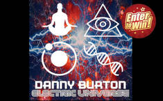 WIN PROMO SIGNED COPY OF DANNY BURTON'S 'ELECTRIC UNIVERSE' ALBUM
