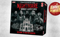 WIN! 'The world's scariest game' NIGHTMARE HORROR ADVENTURES up for grabs
