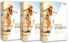 Win Vegas Movie Studio 15 (Standard Version) Video Editing Software