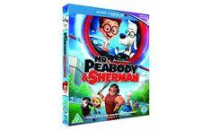 MR.PEABODY & SHERMAN 3D Blu-ray