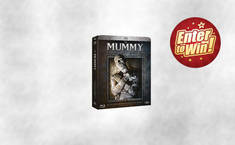 Win The MUMMY: Complete Legacy Collection Box Set on Blu-ray